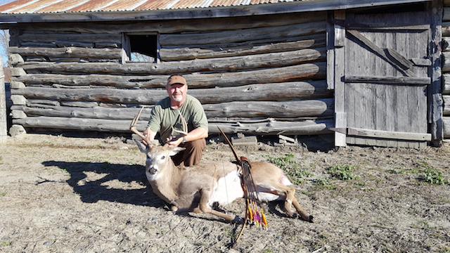 Sean Dunn 2016 first Whitetail with a bow
