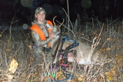 Sarah Yerkes Whitetail Spike