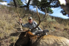 George Kamp 6 point elk bugled in to 11 yards on October 2017