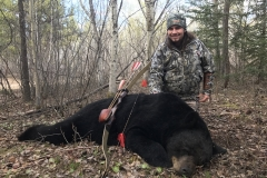 Jim Morton Saskatchewan with a Bears Paw recurve