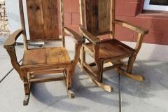 Barnwood Rocking Chairs