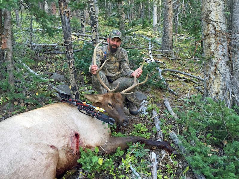 Jeff Yerks first bow harvest bull