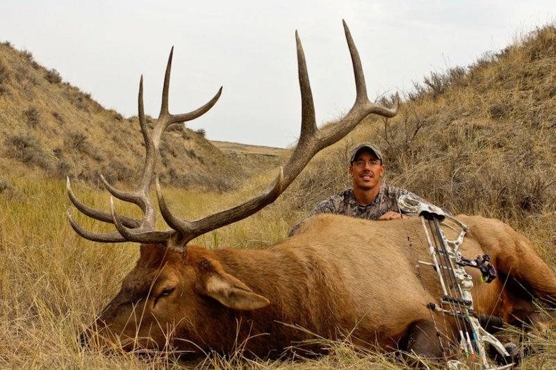 Lucas Zemlicka and his 2012 Montana public land elk