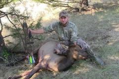 Chris Blaskowski 2012 cow elk with longbow