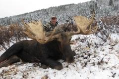 Dyrk Eddie lifetime member with 2015 moose
