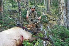 Jeff Yerks first bow harvest bull