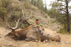 Kiley Jons with his 2012 Montana public land elk