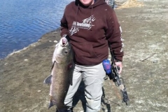Kim Anthony with a 21 pound buffalo carp (1)
