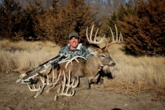 Lucas Zemlicka with his 2012 South Dakota whitetail
