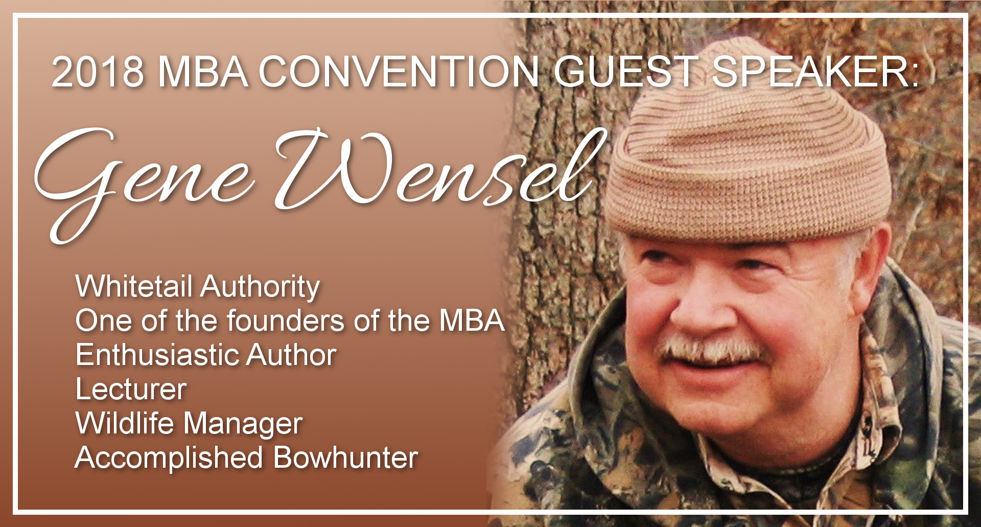 Gene Wensel Guest Speaker